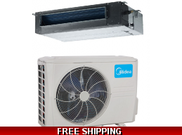 Midea Premier 1 Ton 19 Seer Ducted Heat Pump and Cooling System